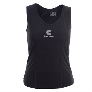 COURTMAX LONG BLACK TENİS TSHIRT