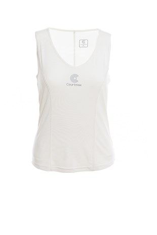 COURTMAX LONG CREAM TENİS TSHIRT